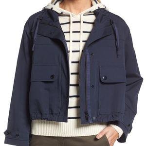 Nordstrom Signature magnetic crop-waist wide coat